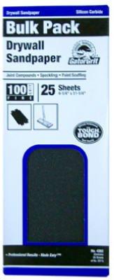 GatorGrit UNIT OF MEASURE 4261 Drywall Sandpaper Fine 150-Grit 45 x 1125-In 25-Ct - Quantity 10