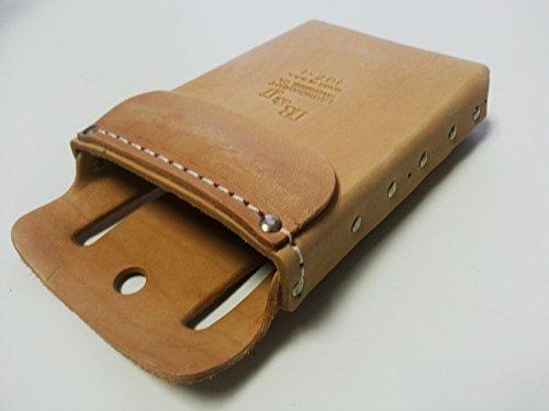 Leather Tool Pouch - Single Pocket - Box Shape