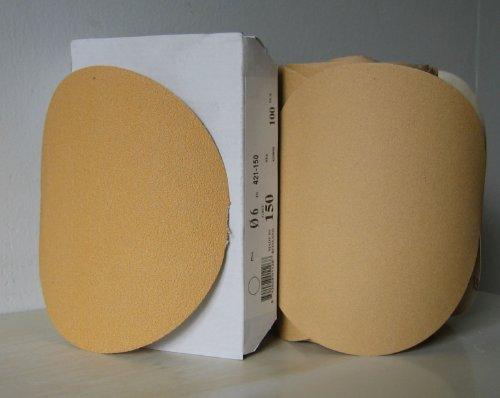 Premium Gold 5 PSA Sticky Back Self Adhesive Sanding Discs Roll 400 Grit NEW