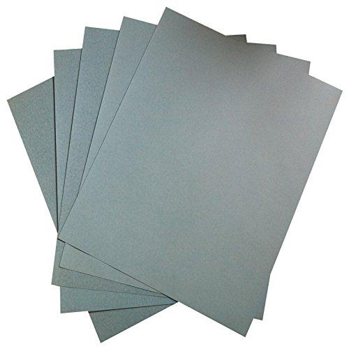 10pcs Abrasive Sandpaper 6000 Grit Dry Wet Waterproof Polishing Sand Paper