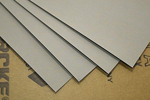 Pack of 5 High Precision Polishing Sanding Wetdry Abrasive Sandpaper Sheets -Grit 3000 Germany