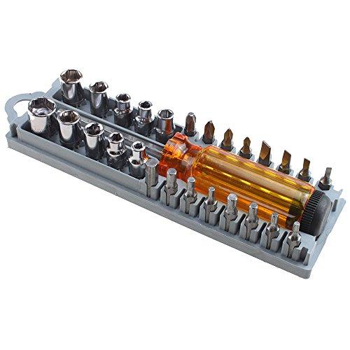 Generic QYUS4160215381 81684 driver Tool set Precisi Multi-Bit screwdriver nut 28in1 P 28in1 Precision i-Bit s in handle handle All in One in One in handle