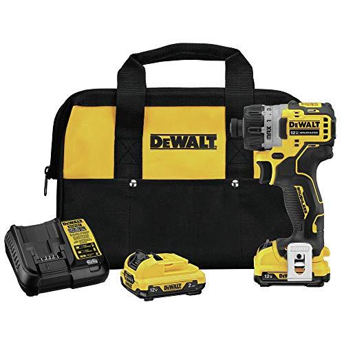 DEWALT DCF601F2 Xtreme 12V Max Brushless 14 Cordless Screwdriver Kit