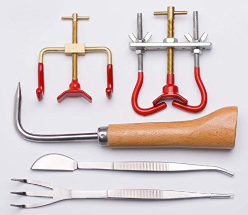 Garden Bonsai Tool Kit 5 Pcs Per Set Gbtk-01 Branch Benders  Bonsai Hook  Bonsai Tweezers