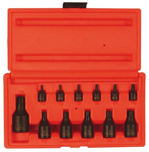 Sunex International 1820S 12 Pc Internal Torx Socket Set - T10 thru T60