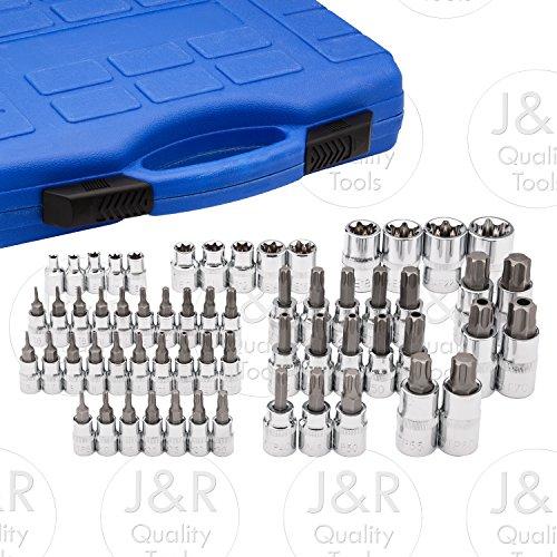 Vector Tools Master Torx Star Socket Set 60-Piece