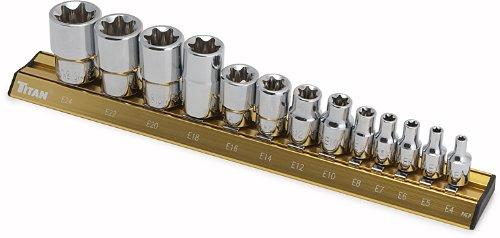 Titan Tools 17403 E-Star Socket Set - 13 Piece