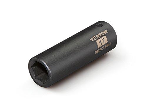 TEKTON 47808 12-Inch Drive by 17 mm Deep Impact Socket Cr-V 6-Point