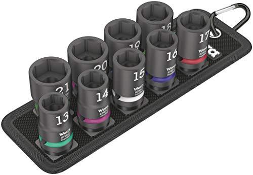 Belt C Impaktor 1 Socket set 12 drive 9 pieces
