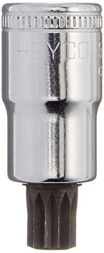 Heyco 50330783 50-33 M12 x 55mm Screwdriver Socket Set
