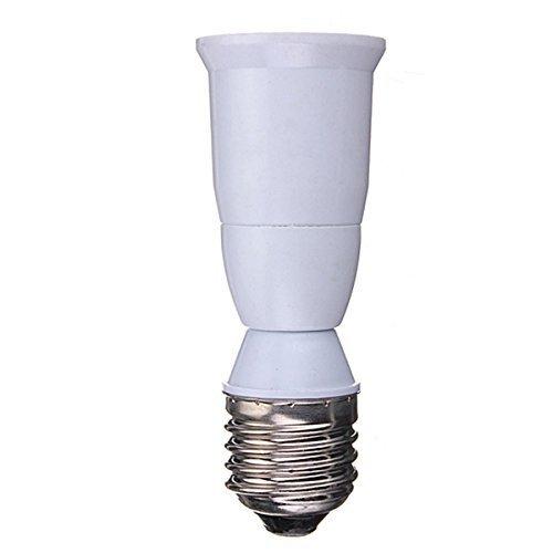 10pcs - E26E27 To E26E27 Extender - E26E27 Standard Socket Medium Socket Edison Screw Lamp Bulb Base Extender Extension Adapter Extends about 25-inch
