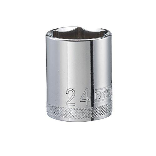 DEWALT 12 6 PT Standard Socket 24MM