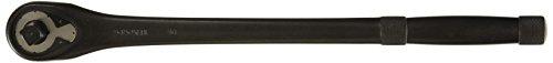 Stanley Proto J5450XLBL 12-Inch Drive Long Handle Premium Pear Head Ratchet 15-Inch Black Oxide