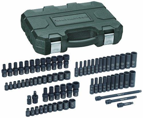 GEARWRENCH 71 Pc 14 Drive 6 Point Standard Deep Universal Impact SAEMetric Socket Set - 84903
