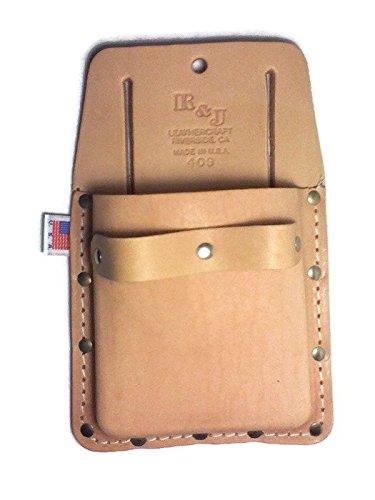 Carpet Trade - Top Grain Box-Shape - 3-Pocket Tool Pouch - 409