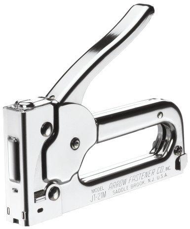 Chrome Finish Staple Gun Tacker