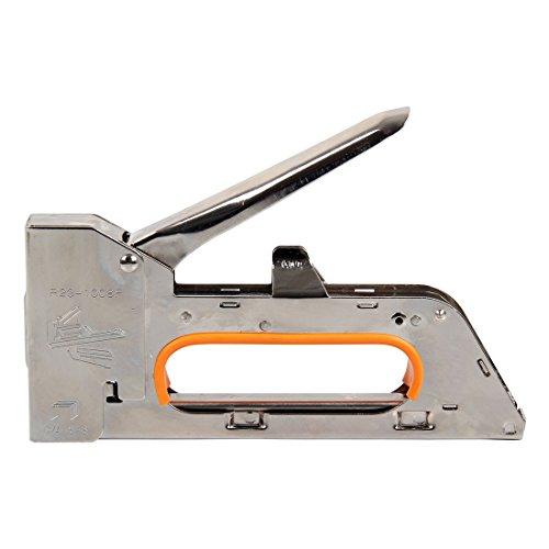 steel staple gun - SODIALR 468MM steel staple gun tacker uphol stery stapler  2500 staples heavy duty