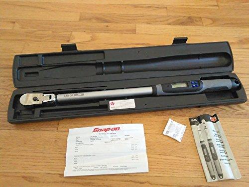 Snap On TECH3FR250 12 Dr Flex Head Digital Torque Wrench 125-250 ftlb