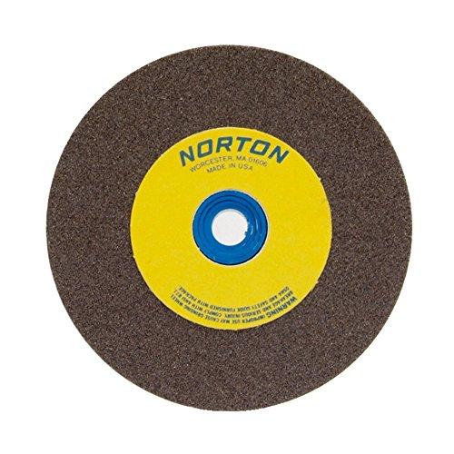 NORTON 66253161393 10 X 1-12 X 1-14 GP COARSE TYPE 01 STRAIGHT GEMINI BENCH PEDESTAL GRINDING WHEEL