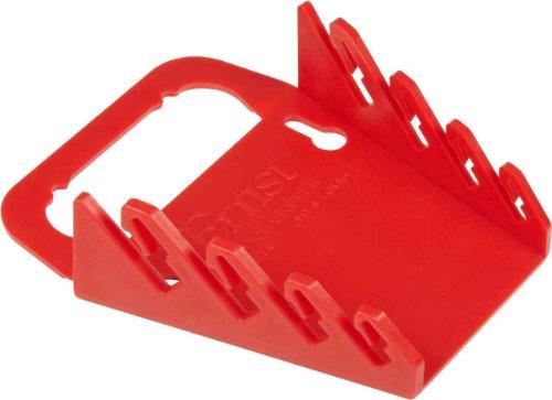 Ernst Manufacturing 5040-Red Gripper 4-Wrench Organizer