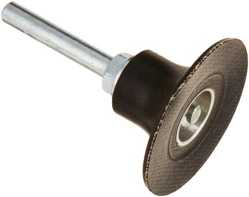Merit Abrasotex Quick-Change Abrasive Disc Holder Type II 14 Shank 2 Diameter 30000 rpm Grit Soft Pack of 1