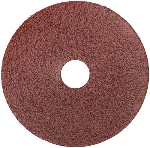 Norton Gemini Metalite F220 Abrasive Disc Fiber Backing Aluminum Oxide 78 Arbor 4-12 Diameter Grit 50 Pack of 25