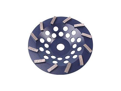 Blastrac CG-725DT Concrete Turbo Diamond Cup Wheel 12 Seg Premium Blade 7