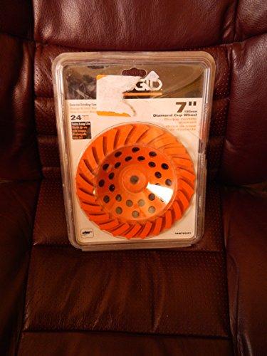 Ridgid 7 180mm Diamond Cup Wheel