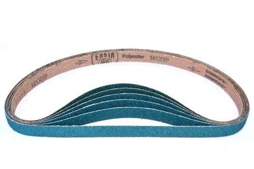 1-18-Inch x 21-Inch Zirconia Abrasive Belt 80 Grit 30 Pack