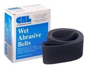 CRL 4 x 106 120 Grit Wet Abrasive Belts for Upright Belt Sanders- 5Box - CRL4X106120X