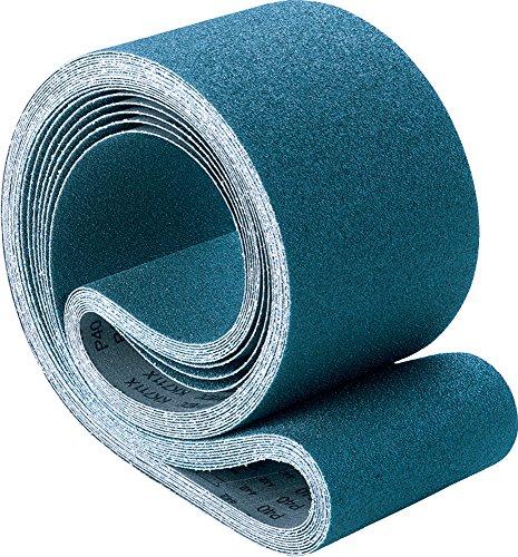 PFERD 49796 Benchstand Abrasive Belt Zirconia Alumina Z 60 Length x 2 Width 80 Grit Pack of 10
