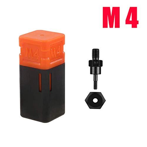 zision tool M4 Rivet Nut Tool Tip Replacement Mandrel