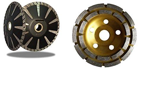 4 Inch 100mm Diamond Grinding Cup Wheel 5 Inch Diamond Contour  Concave  Convex Blade Concrete Sink Stone Granite Quartz Cement