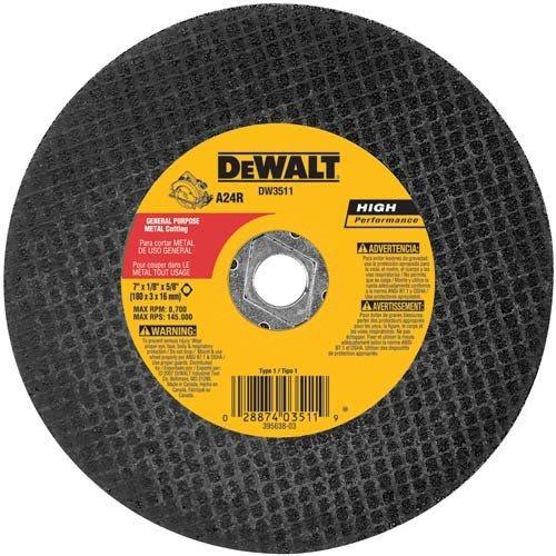 DEWALT DW3511 7-Inch X 18-Inch Metal Abrasive Blade Model DW3511 Tools Hardware store