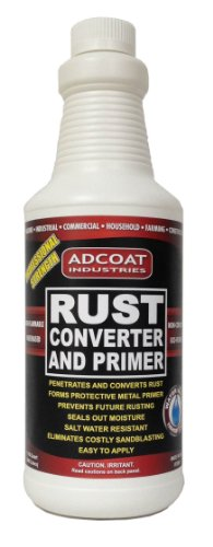 Rust Converter and Primer - Quart 32 Ounce - One-step to Remove Rust and Prime Surface