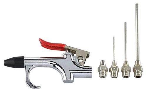 Zeroyoyo Air Compressor Blow Gun Tool Kit Nozzles Inflation Needle Spray Blower Set
