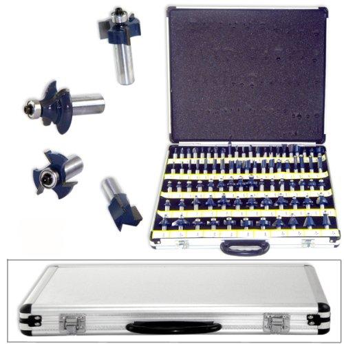80 12 Shank 3 Blades Tungsten Carbide Router Bit Set