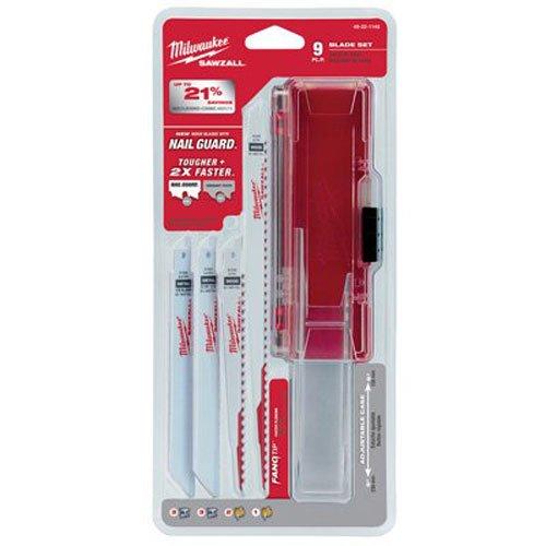 Milwaukee 49-22-1145 9pc Sawzall Blade Kit