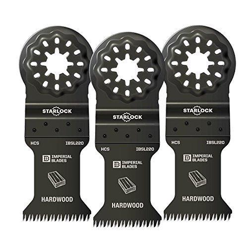 Imperial Blades IBSL220-3 Starlock 1-38 Precision Wood Blade - 3 Blades Per Package