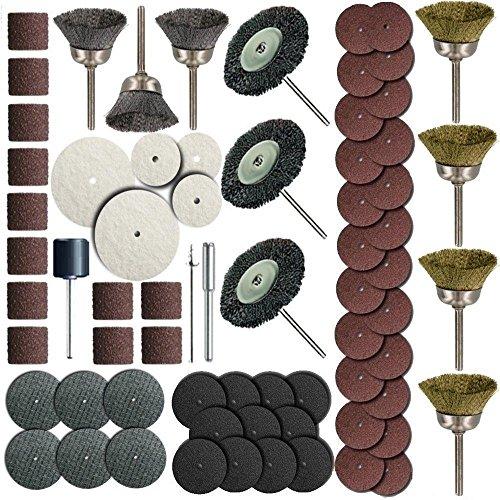 Rotary Tools 161 Pc Rotary Tool Accessory Bit Set Fits Dremel 18 Grinding Polish Item  160