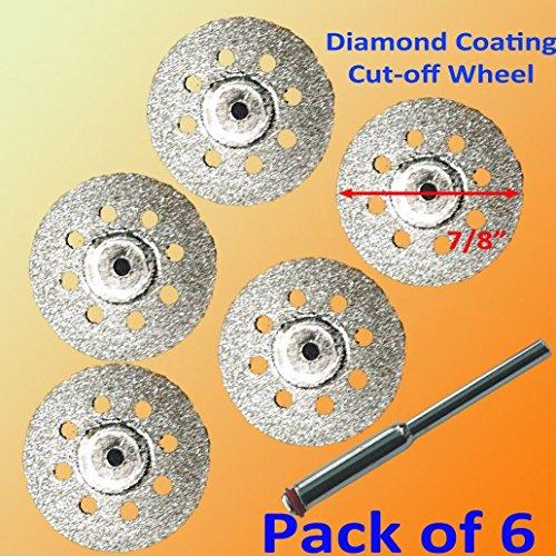 51 Rotary Tool Accessory Fits Dremel Craftsman Diamond Cut Off Wheel Disc 545