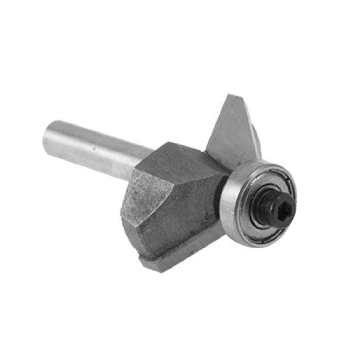 Uxcell Small 14 Shank 12 Cut Length 45° Chamfer Router Bit