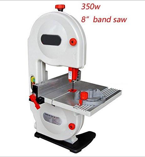 GOWE 190mm Band Saw 8 Wood Saw 220-240v Woodworking Electric Saw 350w Wood Band Saw 80mm Cutting Hight