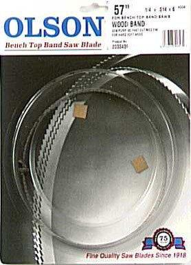 Olson Saw WB55357BL 14 by 0014-Inch 6 TPI Hook Wood Band Saw Blade
