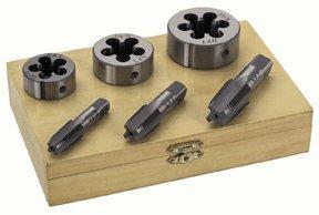 Harbor Freight Tools 6 Piece Pipe Tap Die Set
