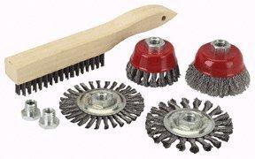 Harbor Freight Tools 7 Piece Grinder Brush Kit