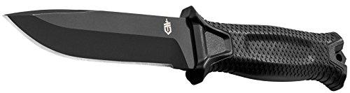 Gerber StrongArm Fixed Blade Knife Fine Edge Black 30-001038N