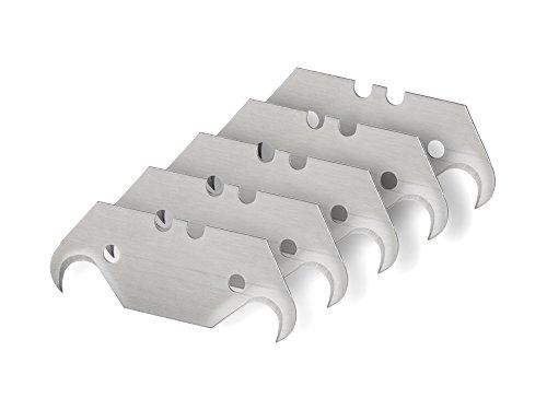 TEKTON 6922 Hook Utility Knife Blades 5-Piece