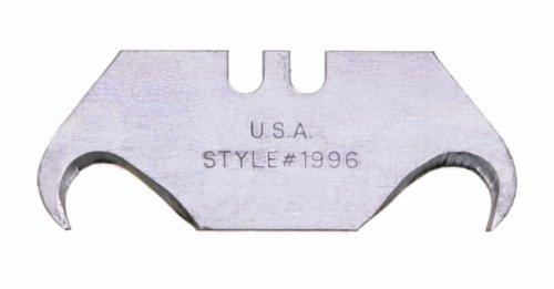 Wiss RWK16V 025-Inch 5 Heavy Duty Hook Utility Knife Blades