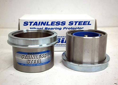 1 Pair - Stainless Steel Wheel Bearing Buddy Protector 271 6000 7000 Axle Hub